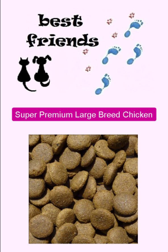 Super Premium Chicken & Rice Adult Large Breed