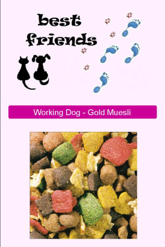 Working Dog Gold Muesli 15kg