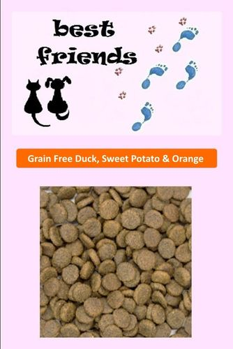 Grain Free 50% Duck - Sweet Potato & Orange