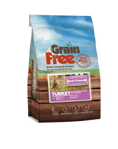 Grain Free Small Breed Puppy Turkey& Duck, SwPot, Dill & Camomile